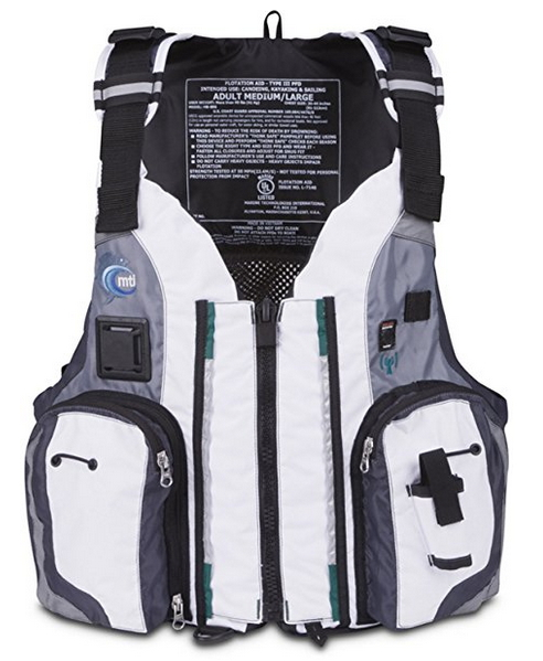 MTI Adventurewear Dio F-Spec Kayak Fishing PFD Life Jacket